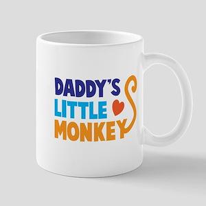 Daddys little monkey Mugs