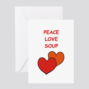 soup Greeting Cards