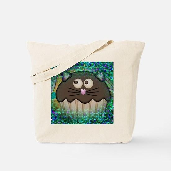 cupcake kitty Tote Bag
