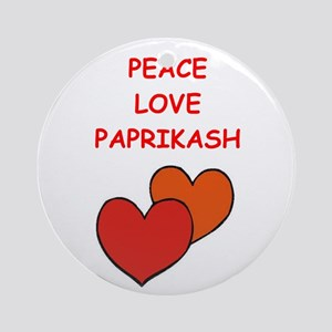 Paprikash Ornament (Round)