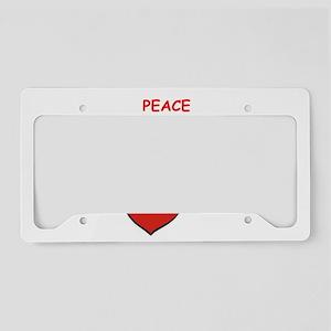 paprikash License Plate Holder