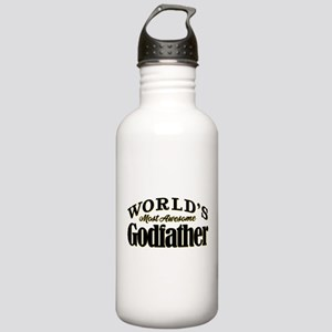 World's Most Awesome G Stainless Water Bottle 1.0L