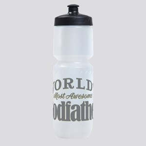 World's Most Awesome Godfather Sports Bottle