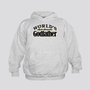 World's Most Awesome Godfather Kids Hoodie