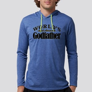 World's Most Awesome Godfather Mens Hooded Shirt