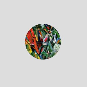 Franz Marc art: In the Rain Mini Button