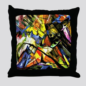 Franz Marc painting: Tyrol Throw Pillow