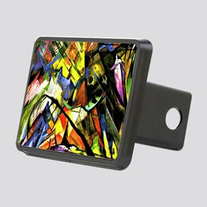Franz Marc painting: Tyrol Rectangular Hitch Cover