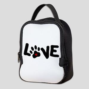 Love (Pets) Neoprene Lunch Bag