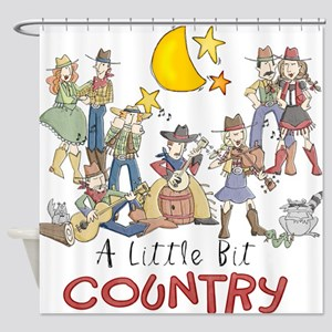 littlebitcountry Shower Curtain