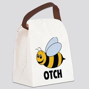 Bee Otch Canvas Lunch Bag