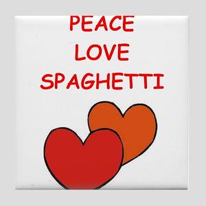 spaghetti Tile Coaster