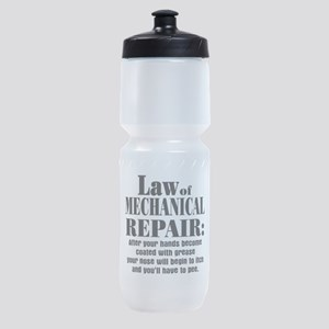 Law of Mechanical Repair: Sports Bottle