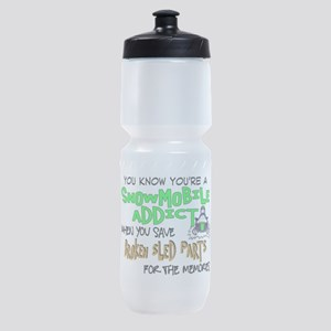 Sled Parts Memories Sports Bottle