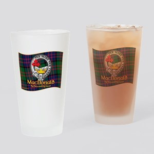 MacDonald Clan Drinking Glass