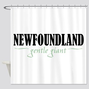 Newfoundland Shower Curtain
