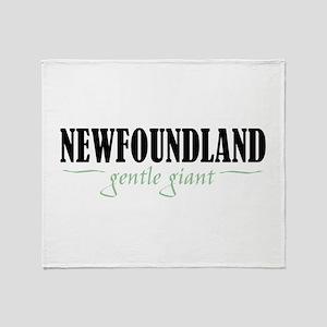 Newfoundland Throw Blanket