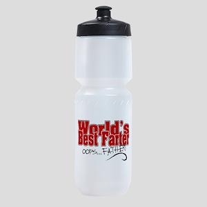 World's Best Farter (oops.. FATHER!) Sports Bottle