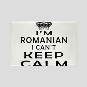 I Am Romanian I Can Not Keep Calm Rectangle Magnet