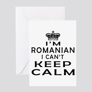 Romanian greeting cards cafepress i am romanian i can not keep calm greeting card m4hsunfo