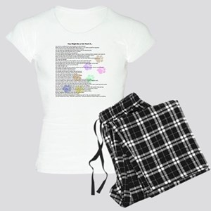 You Might Be A Vet Tech If...Women's Light Pajamas