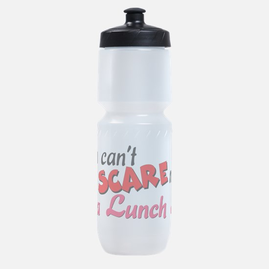3-lunchlady.png Sports Bottle