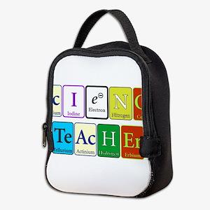 Science Teacher Neoprene Lunch Bag