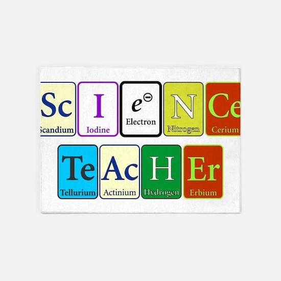Science Teacher 5'x7'Area Rug