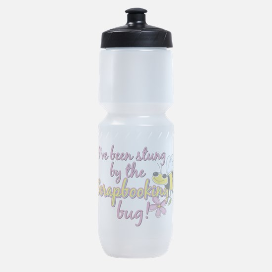 stung by bug.png Sports Bottle