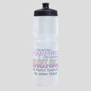 Happiness Massage Sports Bottle