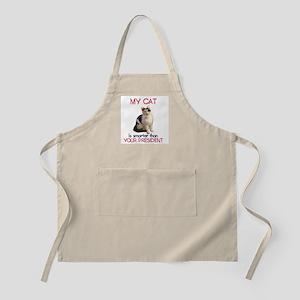 Cat > Bush 2 BBQ Apron