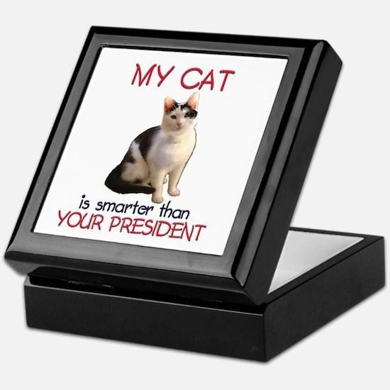 Cat > Bush 2 Keepsake Box