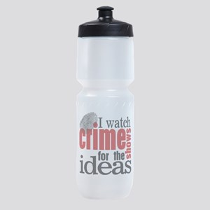 Crime Show Ideas Sports Bottle