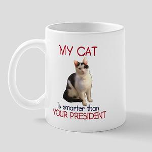 Cat > Bush 2 Mug