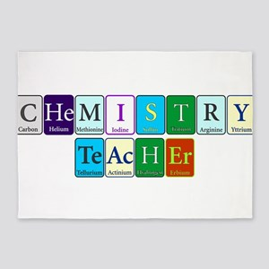 Chemistry Teacher 5'x7'Area Rug