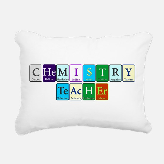 Chemistry Teacher Rectangular Canvas Pillow