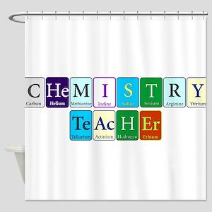 Chemistry Teacher Shower Curtain