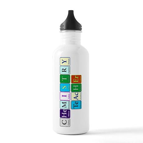 Chemistry Teacher Water Bottle