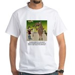 Horse Play White T-Shirt
