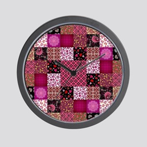 PATCHWORK PASSION Wall Clock