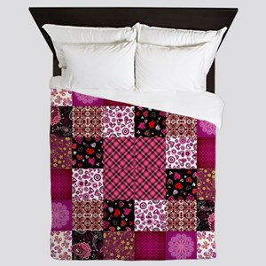 PATCHWORK PASSION Queen Duvet