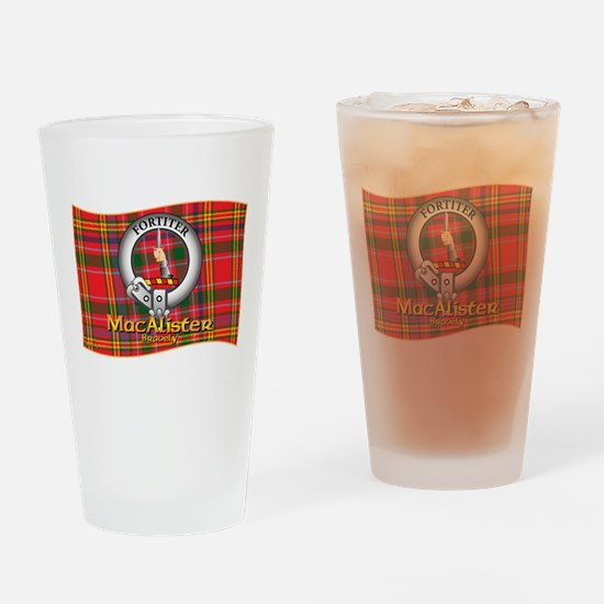 MacAlister Clan Drinking Glass