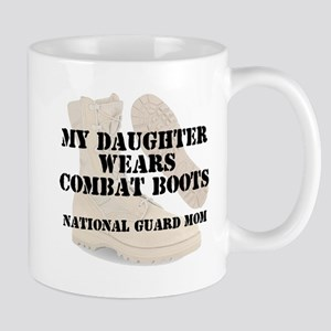 National Guard Mom Daughter wears DCB Mugs