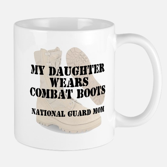 National Guard Mom Daughter wears DCB Mugs