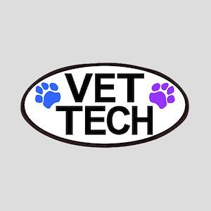Vet Tech Pawprints Patch