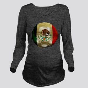Mexico World Cup Long Sleeve Maternity T-Shirt