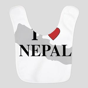 I Love Nepal Bib