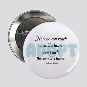 "Foster Care and Adoption 2.25"" Button"