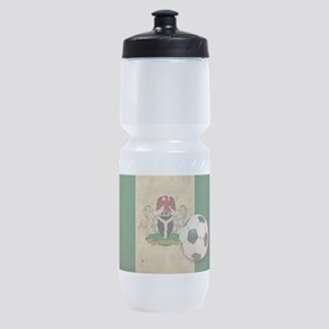 Vintage Nigeria Football Sports Bottle