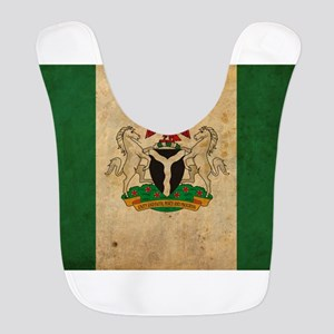 Vintage Nigeria Flag Bib